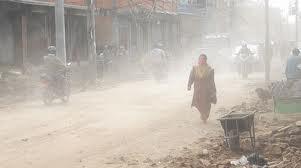 air pollution in Kathmandu(http://walkeasyktm.wordpress.com)