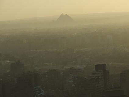 @Marjan Slaats: Southwest - Giza payramids