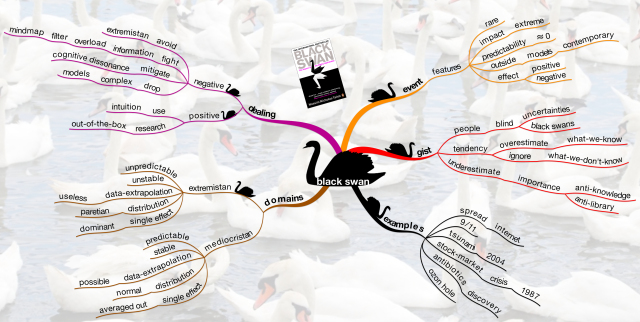 source: http://mastermindmaps.wordpress.com/2010/11/22/black-swans/