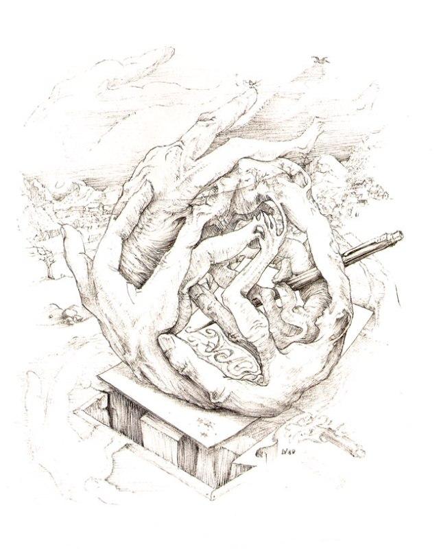 source: http://www.moorsmagazine.com/lijstebrij/kunstwerken/vromantekenaar.html
