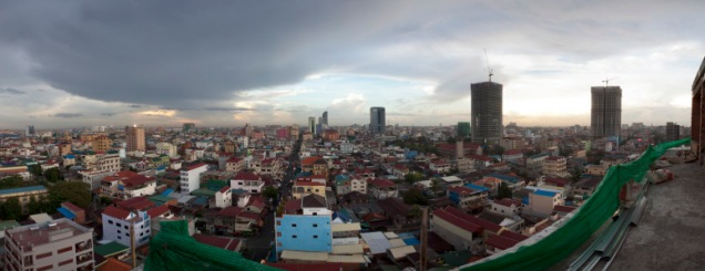 Phnom Penh, May 2012, looking North from BKKII, Dec 2012 source: http://nicolasaxelrod.wordpress.com/2012/05/23/phnom-penh-from-above/
