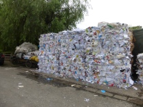 recycling area along the Zangziabang canal between Century park and the Huangpu river @ Marjan Slaats