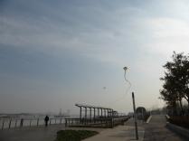 South Bund, flying huge kites @marjanslaats