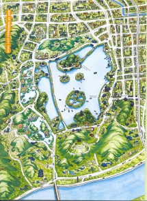 West lake map source: http://www.china-mike.com/wp-content/uploads/2010/08/Hangzhou_west_lake_map.jpg