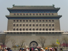 frontgate (arrow tower) of Tiananmen square source: @marjanslaats
