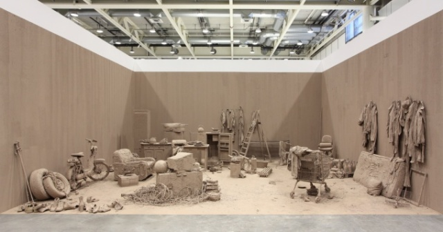 Chen Zhen / Purification Room / Found objects, clay / 850 x 1100 x 450 cm / 2000 / Private Collection, Paris Courtesy GALLERIA CONTINUA, San Gimignano / Beijing / Les Moulins © Chen Zhen / ADAGP, Paris - SACK, Seoul, 2015 Photo Sebastiano Pellion di Persano source: http://www.rockbundartmuseum.org/en/exhibition/overview/acfjsB